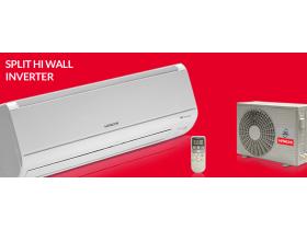 Ar Condicionado Split Hi Wall Inverter 9.000 btus , quente e frio.