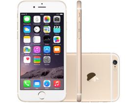 Celular IPhone Geração 6 16GB Dourado